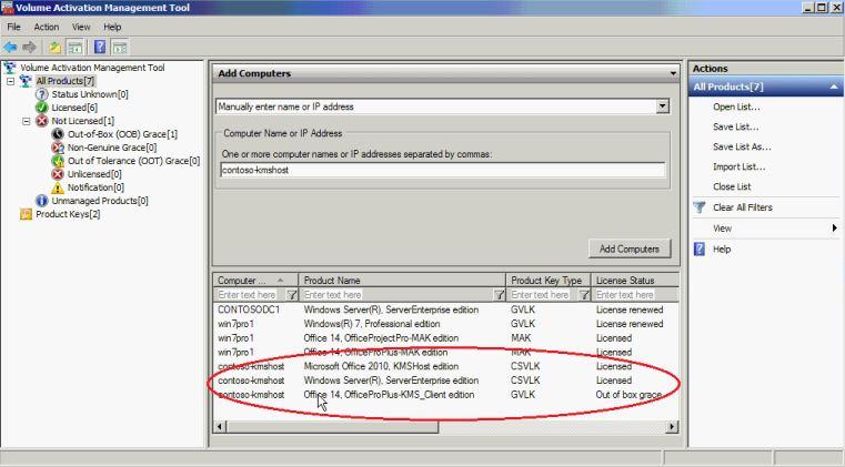 Volume Activation Management Tool (VAMT) 2 0 - EIK wiki