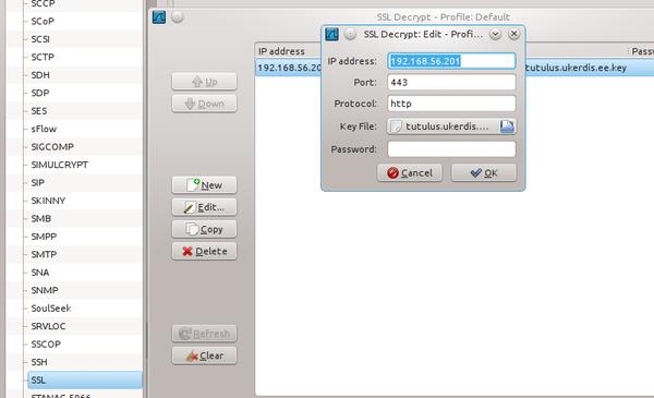 HTTPS liikluse uurimine tcpdump, Wireshark ja mitmproxy abil